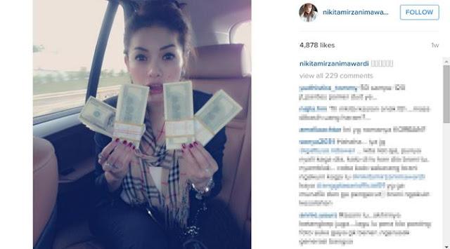 Menurut Pihak Kepolisian, Artis inisial NM Adalah Nikita Mirzani