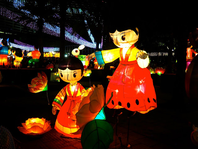 Lantern displays | Hong Kong Urban Mid-Autumn Festival in Victoria Park