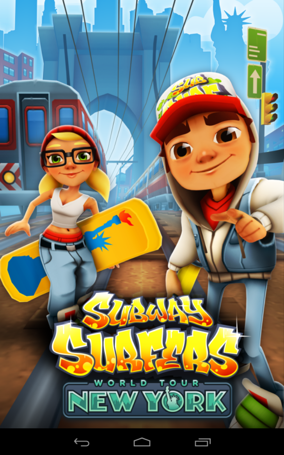 Subway Surf 1.6.0 (QVGA-ARMV6)