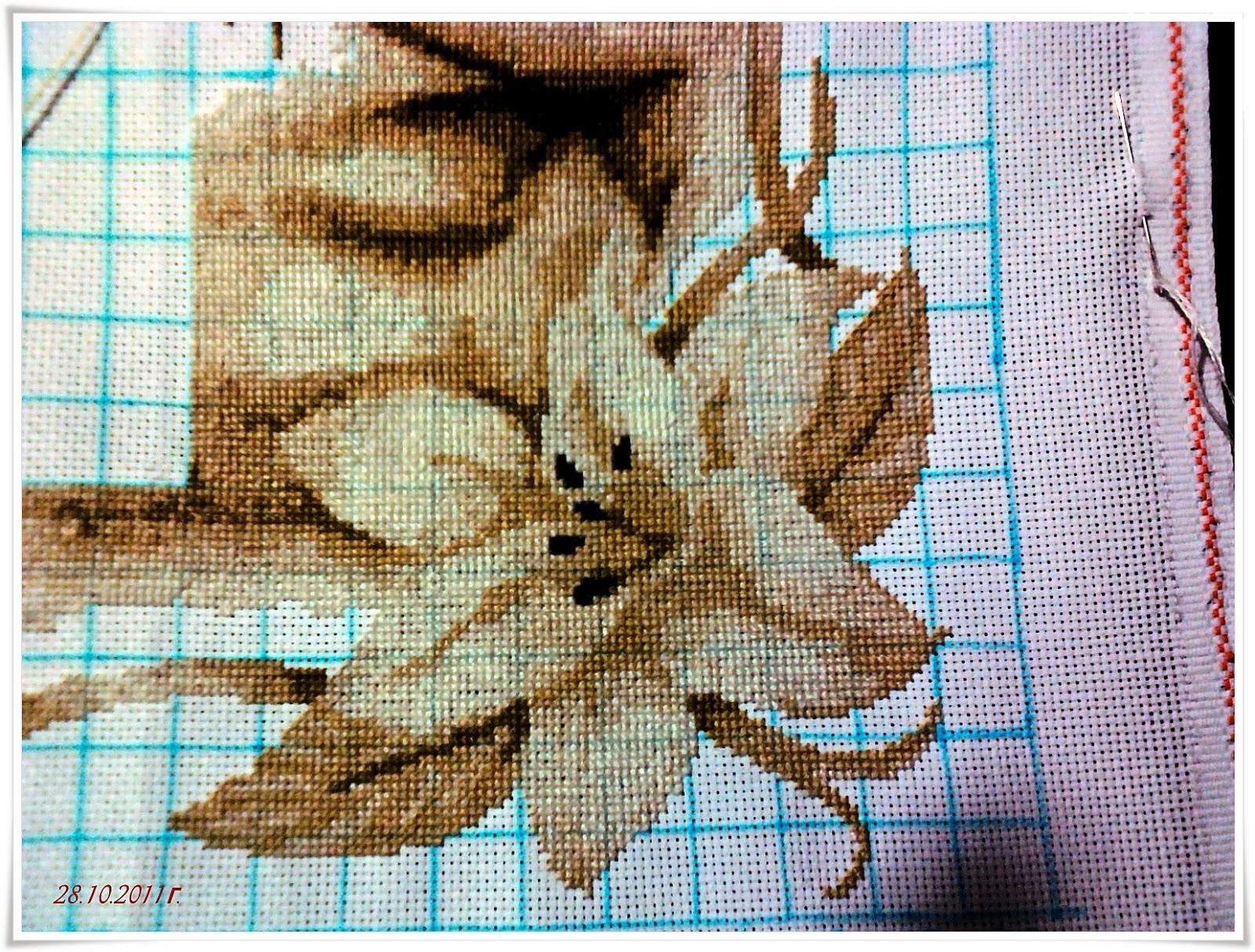 схема вышивки павлины от лука с
