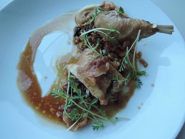 rochford, winery, yarra valley, corn fed chicken, guanciale, farro
