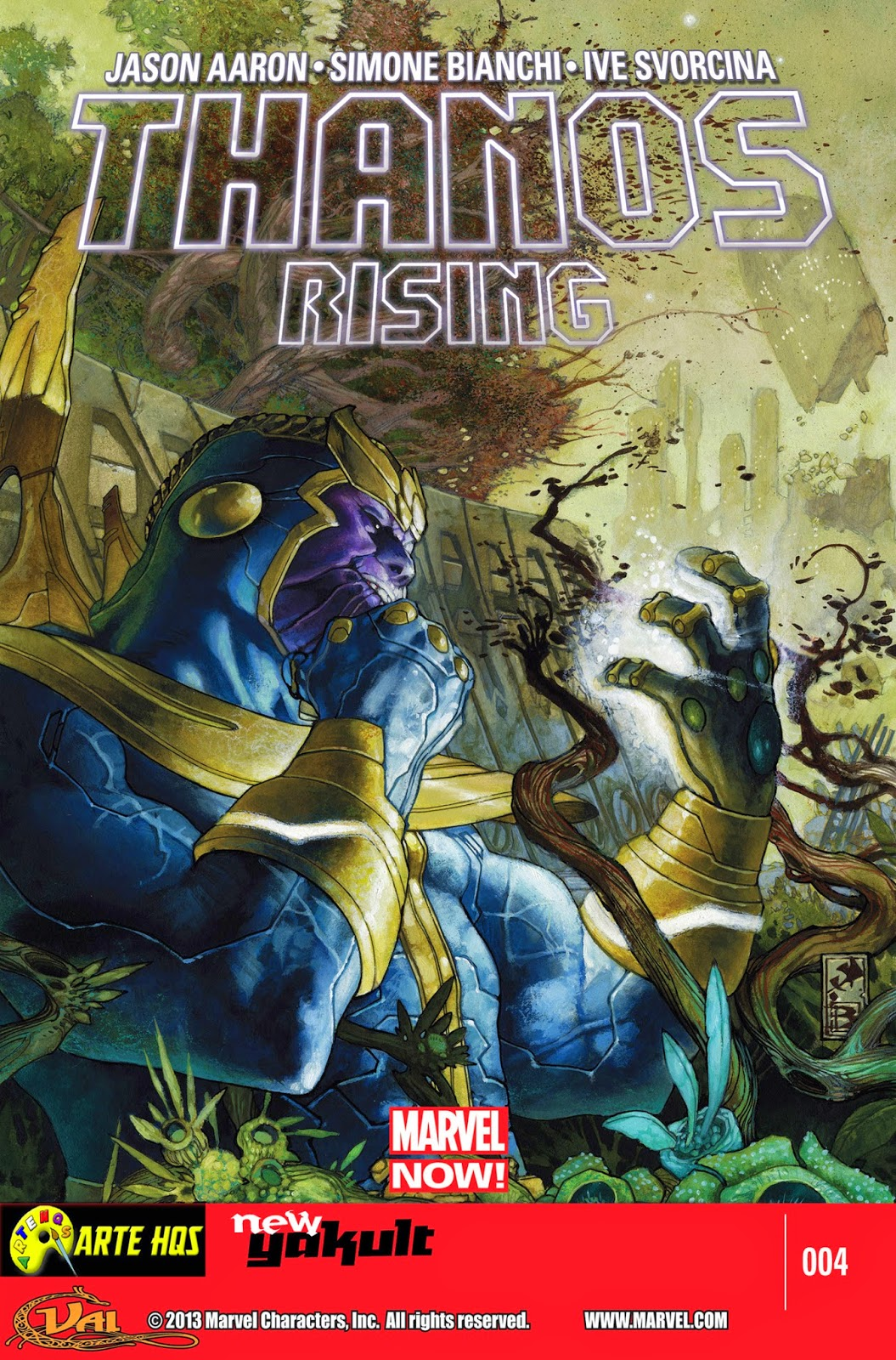 Nova Marvel! Thanos Rising #4
