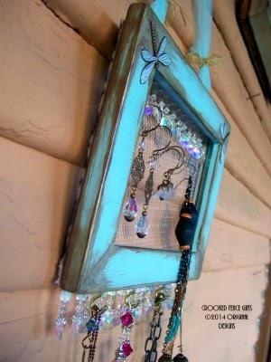Aqua Jewelry Display