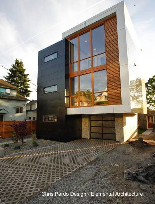 Residencia contemporánea en Seattle