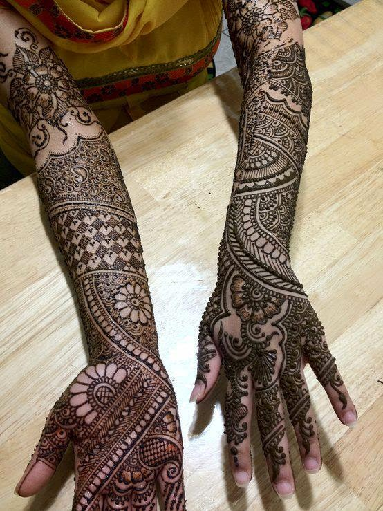 Mehndi Patterns For Brides : Bridal mehndi designs  for girls style hunt world