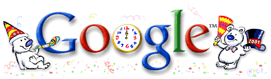 New Year 2001 Google Doodle