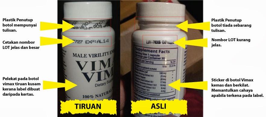 vimax tiruan vs vimax original jpg