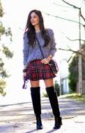 http://www.petitsweetcouture.com/2013/12/tartan-skirt.html