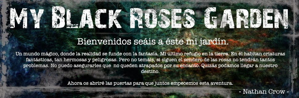 My Black Roses Garden
