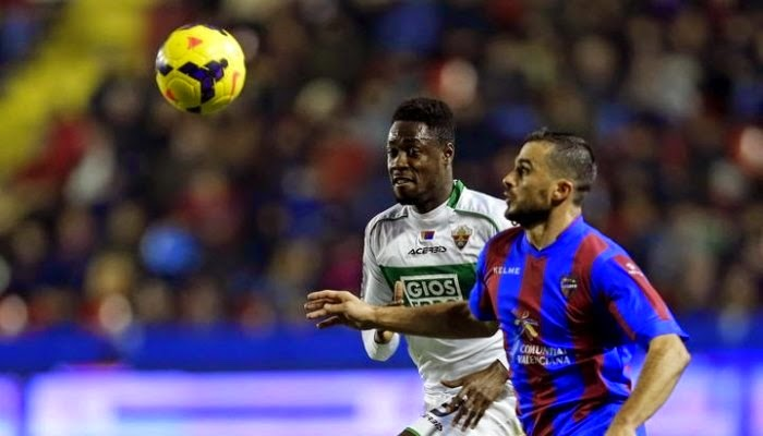 Elche vs Levante en vivo