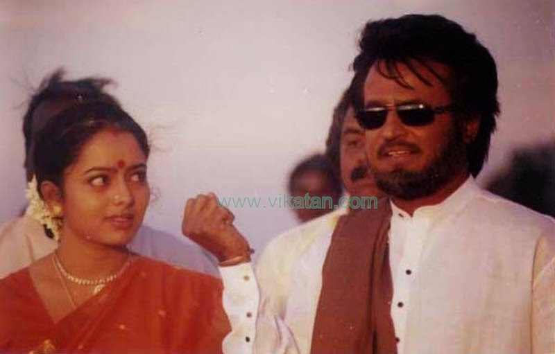 SOUNDARYA WITH RAJINIKANTH IN 'PADAYAPPA' MOVIE