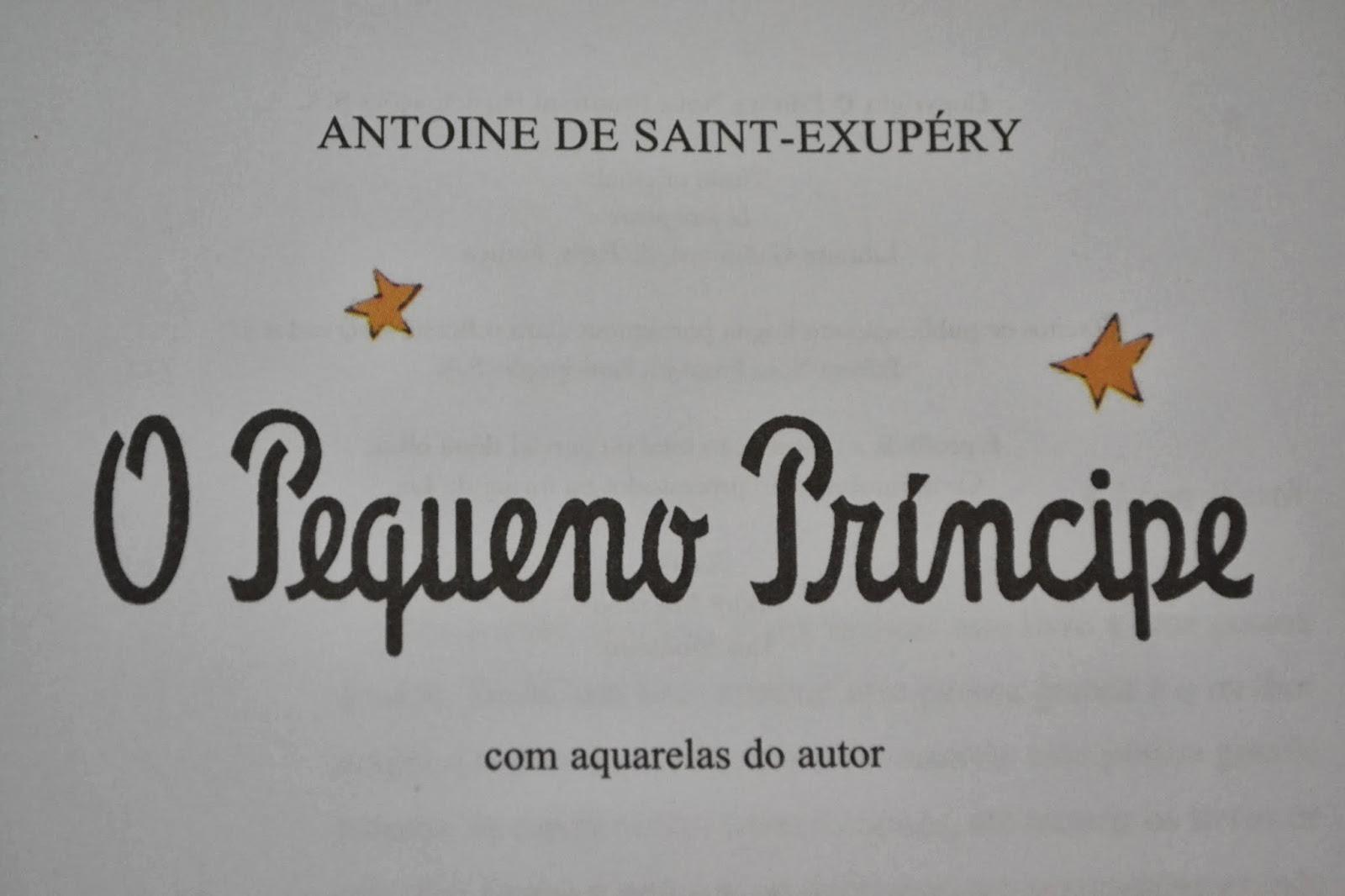 Luana Taís Dica De Livro O Pequeno Príncipe