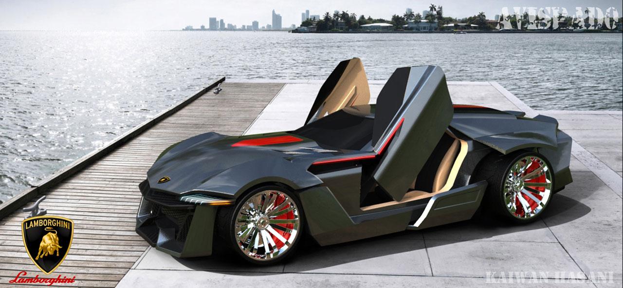 Cars-HD-Wall... Lamborghini Perdigon Kaiwan Hasani