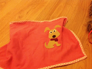 toy dog blanket DIY