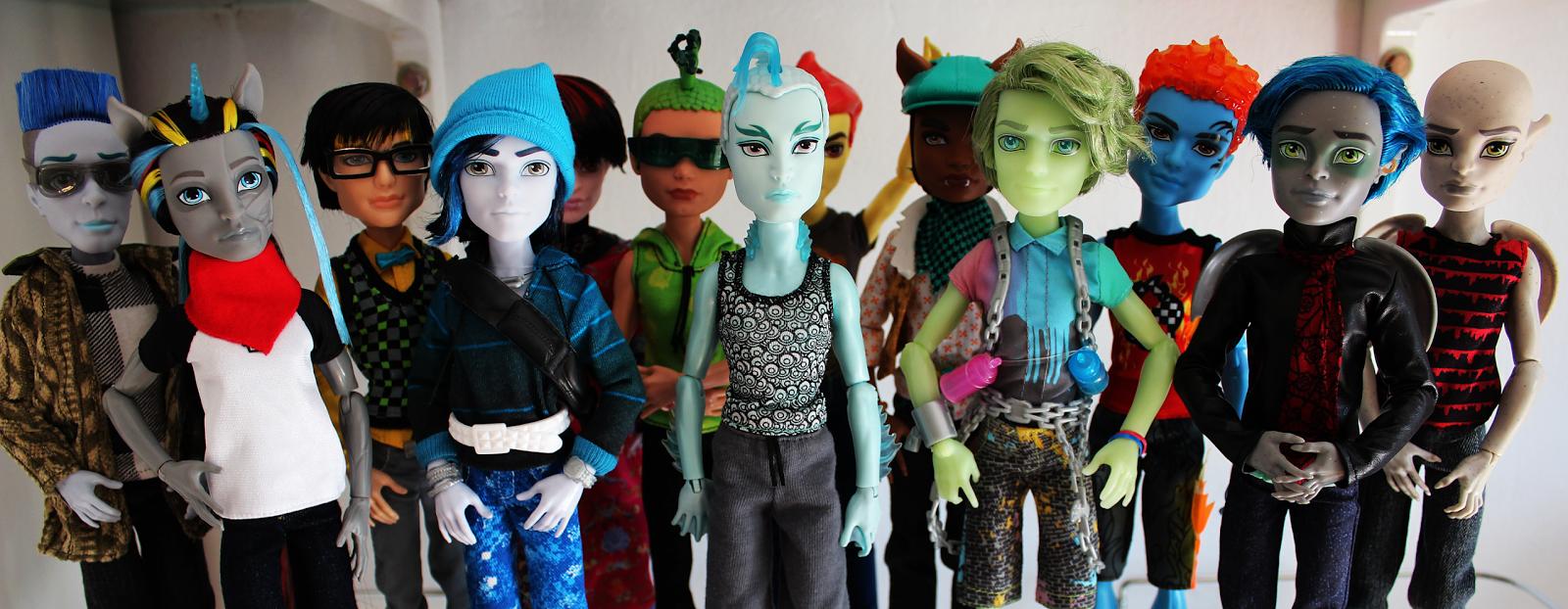 Karlota  Monster High Dolls Mi coleccin de chicos
