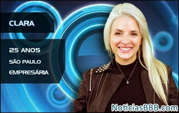 Flagras Clara Aguilar BBB14 - Fotos e Vídeos