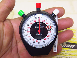 HANHART FELIX STOPWATCH - MANUAL WINDING - GERMAN MADE