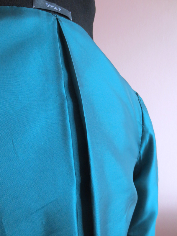 50-tal Dior kavaj foder rygg veck