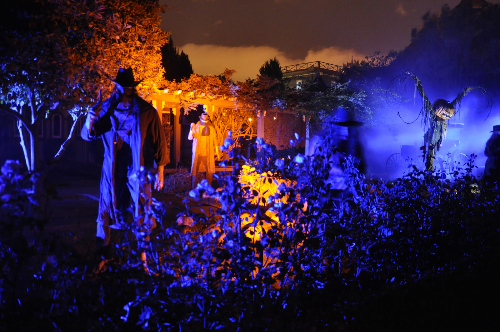 the san jose blog: winchester mystery house fright nights