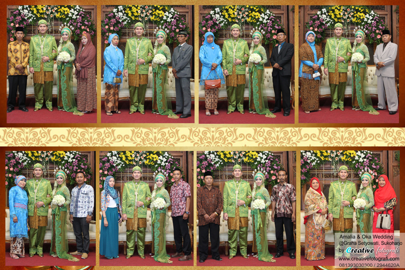 foto wedding kolase