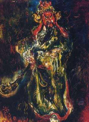 affandi painting