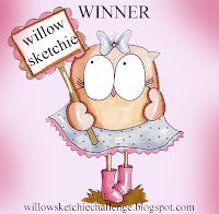Moja prva zmaga Willow Sketchie (Božič oktobra s promarkerji)