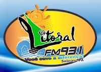 ouvir a Rádio Litoral FM 93,1 Salinópolis PA