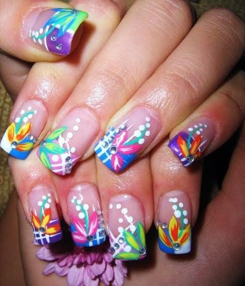 Fun And Colorful Nail Art Designs Fashion And Cosmetics