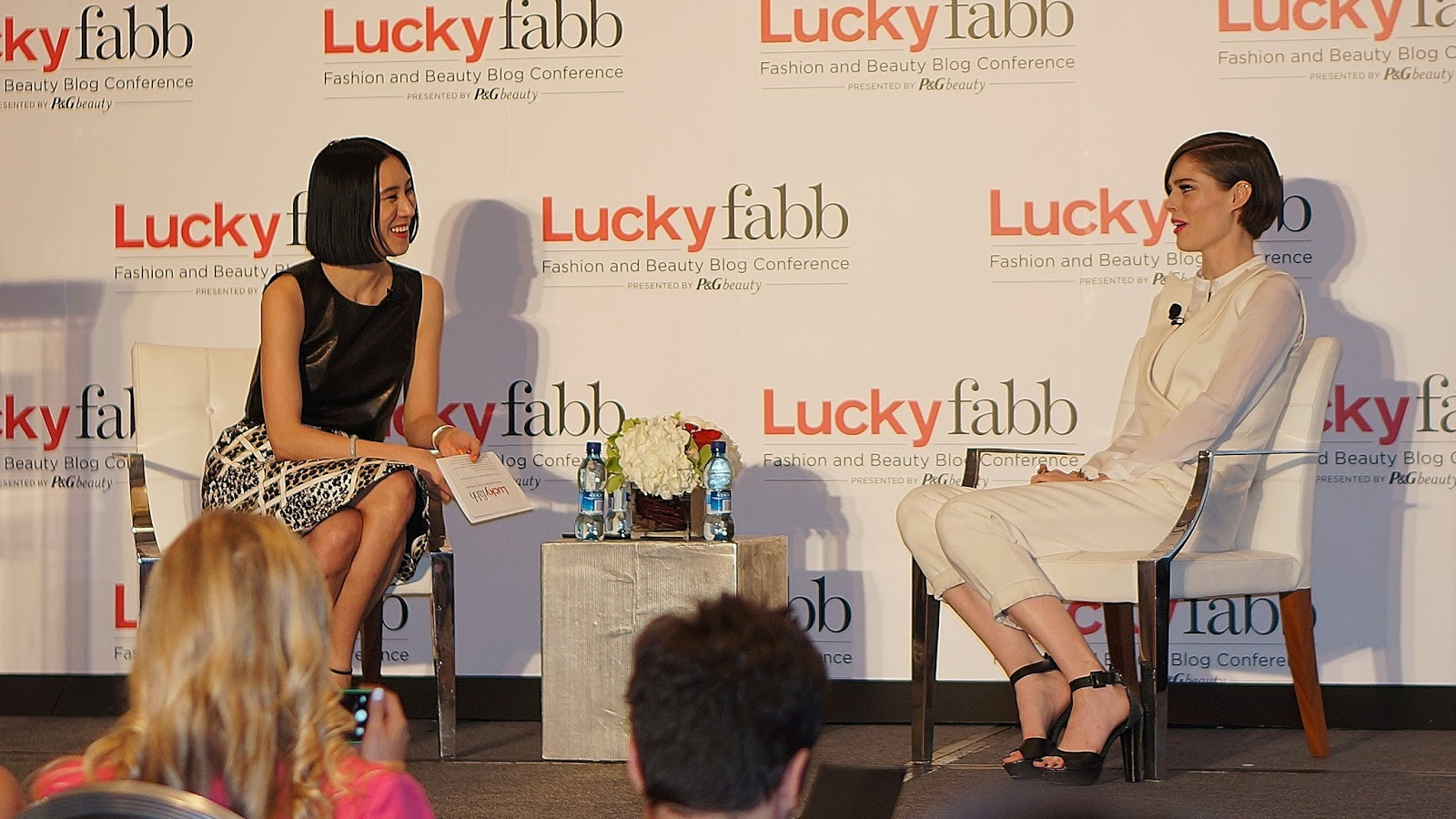 Lucky Fabb, Lucky Fabb 2014, Lucky Fabb West, Lucky Fabb L.A., Lucky Fabb Fashion and Beauty Blog Conference, Lucky Magazine Event, Fashion Blogger, Coco Rocha