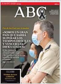 31/05/2020   ESPAÑA UNA  PRIMERA PÁGINA DE LA PRENSA
