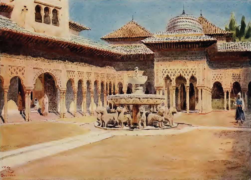 Artima as w w collins cathedral cities of spain - Pinturas arenas granada ...