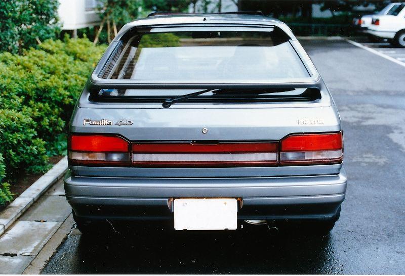 Mazda Familia, 4WD, napęd na cztery koła, japoński hatchback, fotki