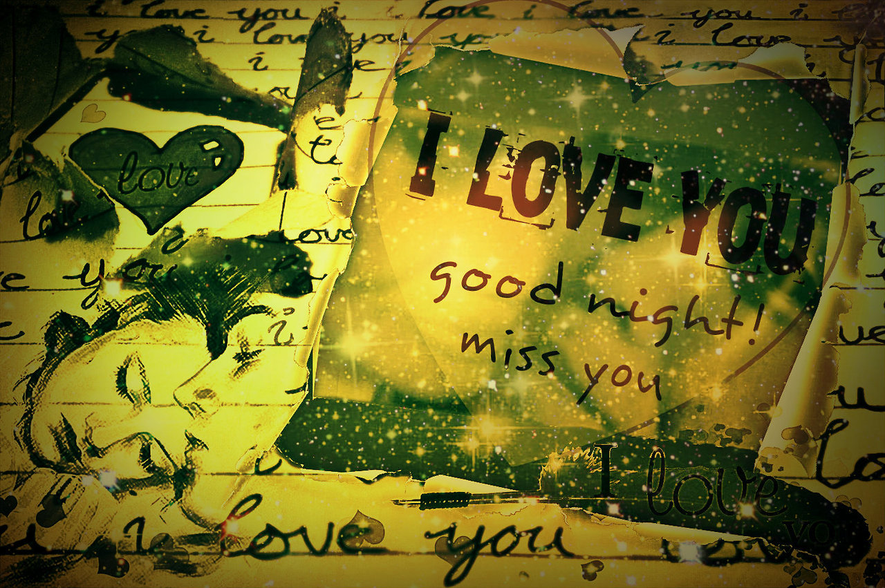 Good Night I Love You Image for Lovers