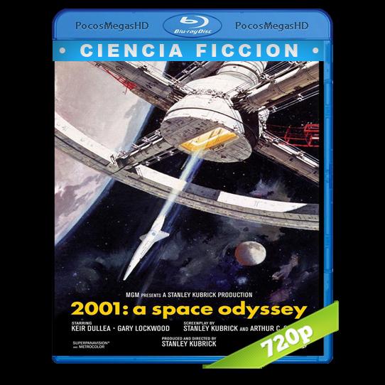 2001: Una odisea del espacio (1968) BrRip 720p Latino/Inglés AC3+subs