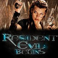 Cartel de la película Resident Evil: Begins protagonizada por Mila Jovovich