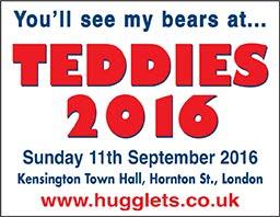 Hugglet Teddies 2016