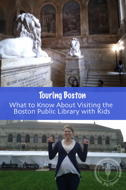 Boston Public Library with Kids