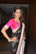 Shaddha das glamorous photos in saree-thumbnail-10