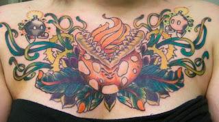 sugestões e ideias de Tatuagens no Peito