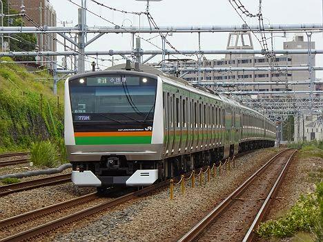 東海道線 普通 小田原行き E233系