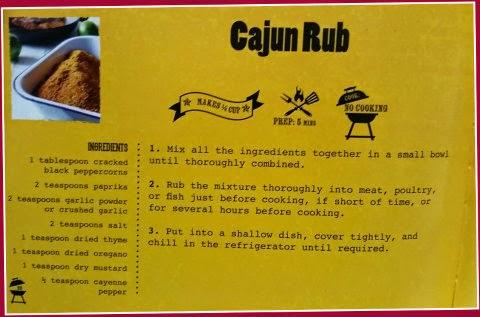 cajun rub recipe