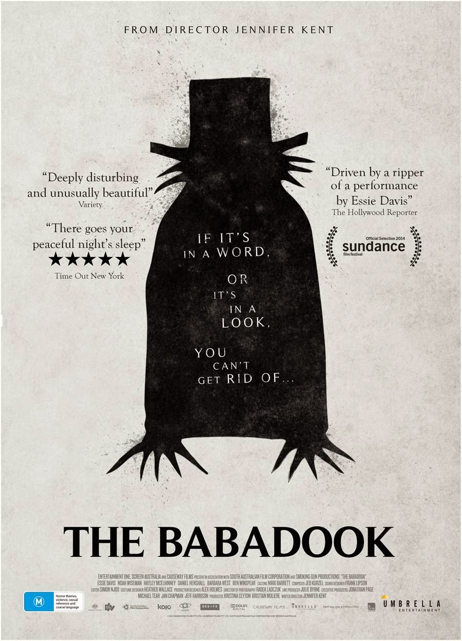 The Babadook Australian horror film 2014 poster