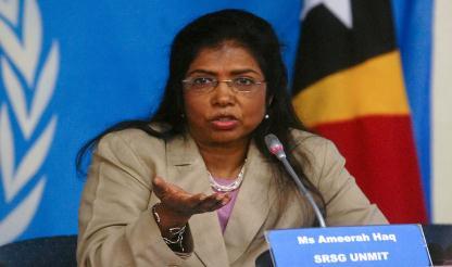 Timor-Leste: Delegação da ONU chega ao país para avaliar missão pós-2012