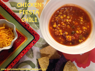 Chicken, Black Bean, and Corn Chili