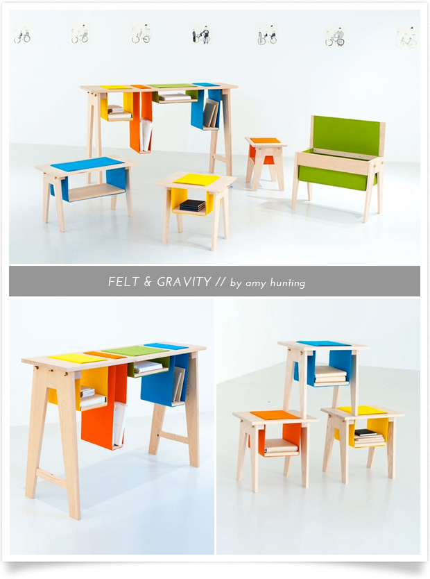 felt & gravity by Amy Hunting