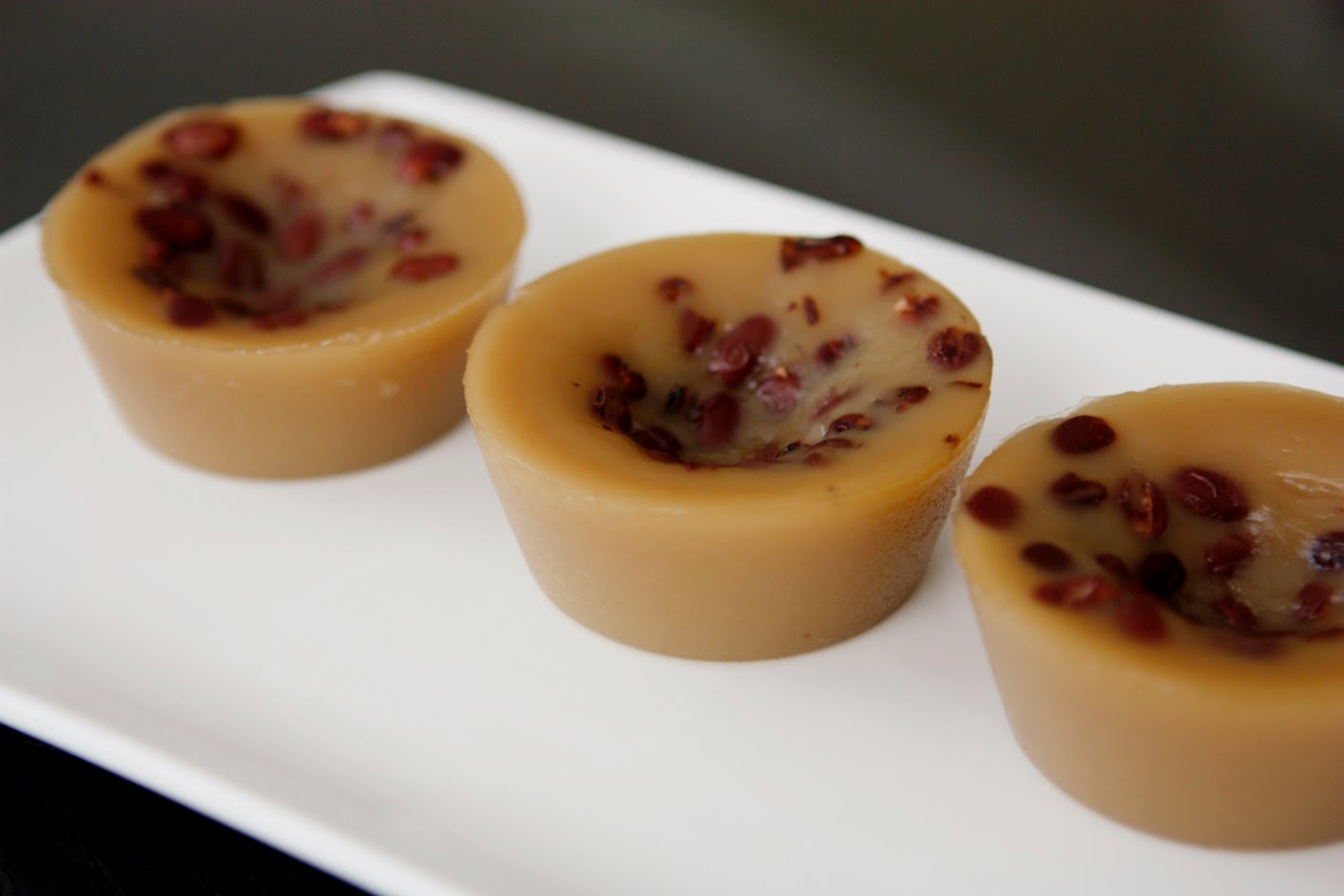 sUgArcrUnch: Chinese Street Food - Red Bean Pudding (砵仔糕)