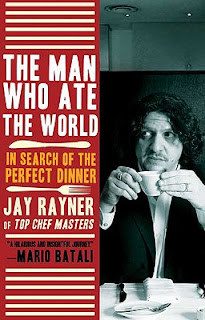 Jay Rayner the Man who ate the world  book cover