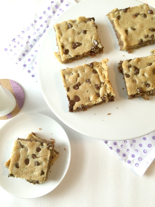 chocolate chip cookie bar recipe
