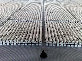 Foto The Guinness Book of World Records Lego StarWars Terbanyak di dunia