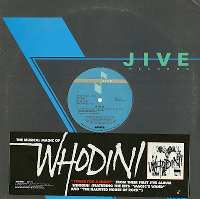 Whodini – Yours For A Night (VLS) (1983) (256 kbps)